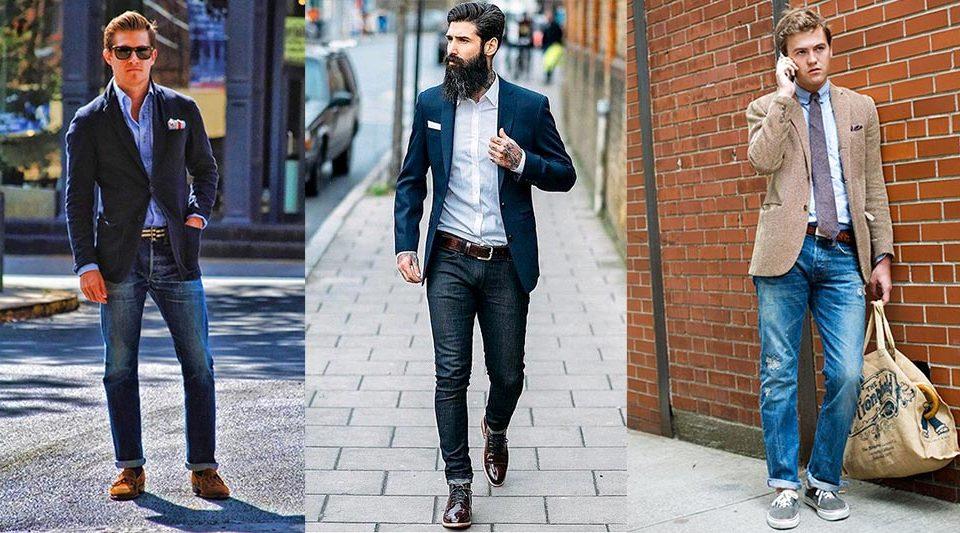 Мужской стиль — сочетаем сочетаемое.