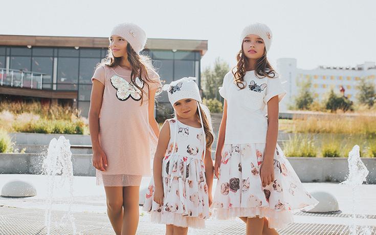 Платья детские от производителя.