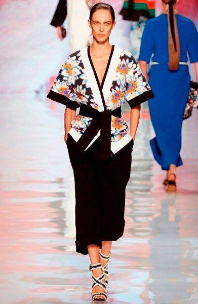 Азиатский стиль и сентиментальность в одежде.