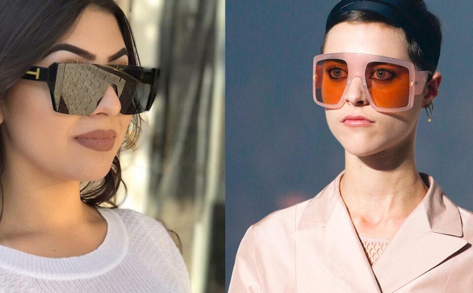 Очки женские солнцезащитные.